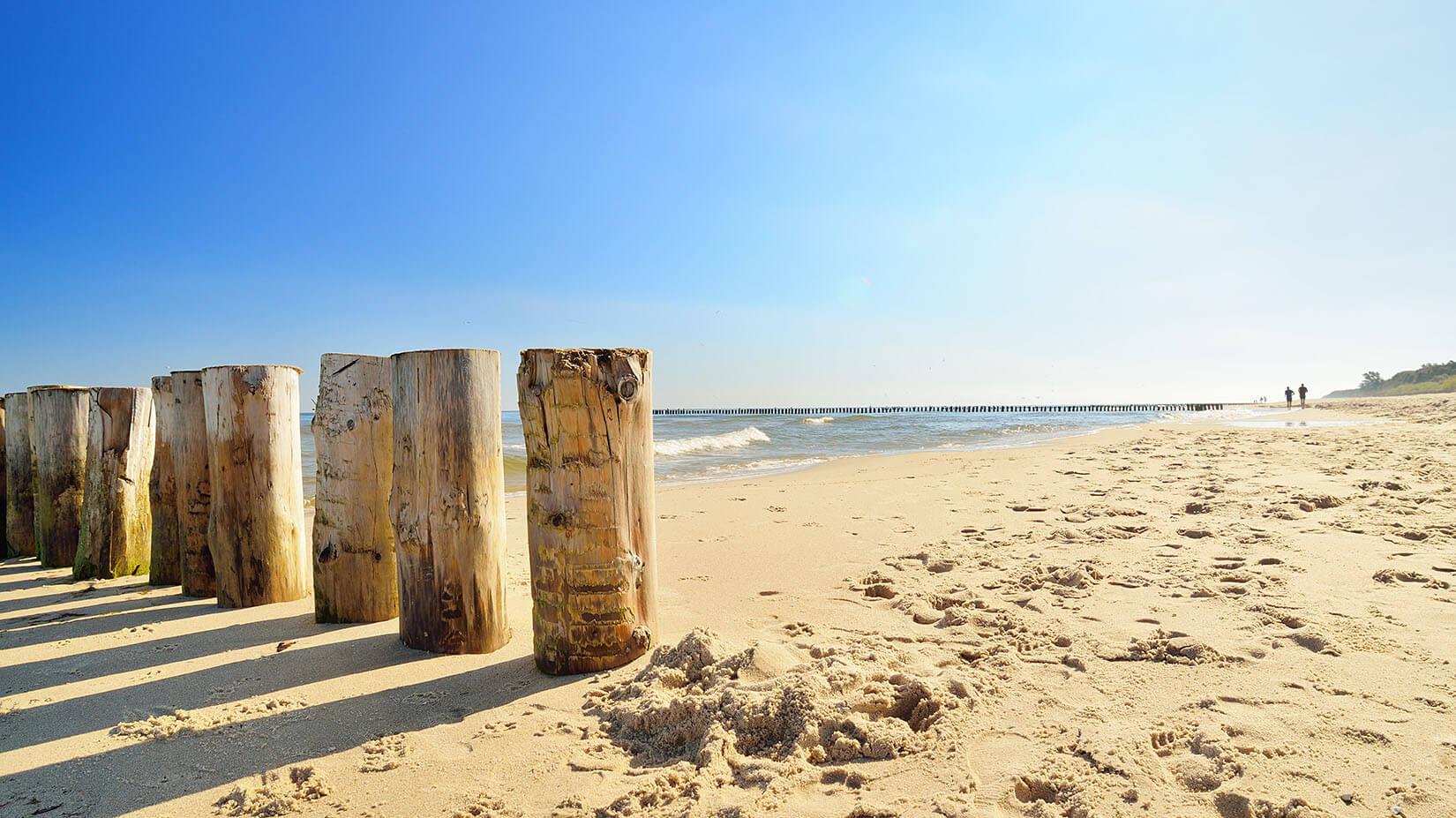 Plaża wTrzęsaczu